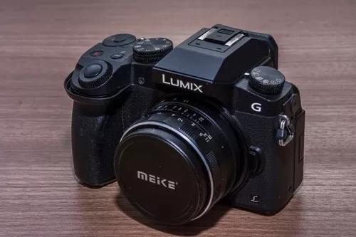 Câmera panasonic lumix g7 - leia