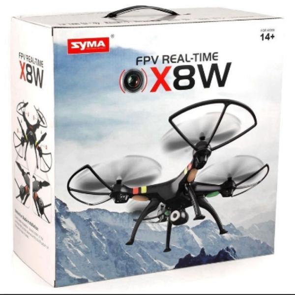 Drone syma x8w fpv wifi imagens em tempo rea