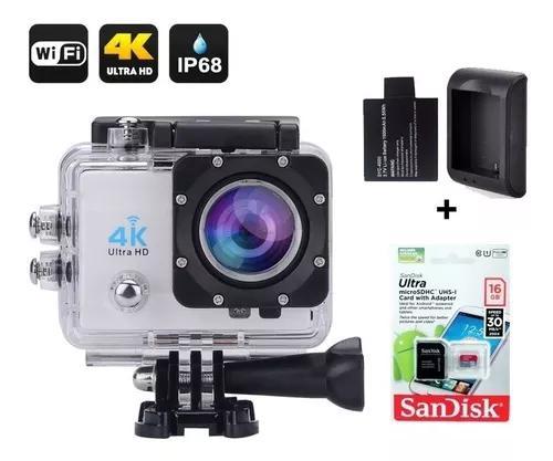 Filmadora 4k câmera wifi super kit