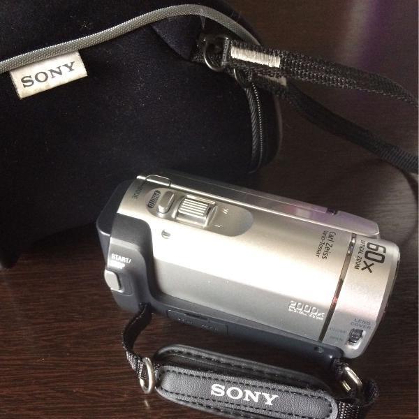 Filmadora sony handycam dcr - sx30
