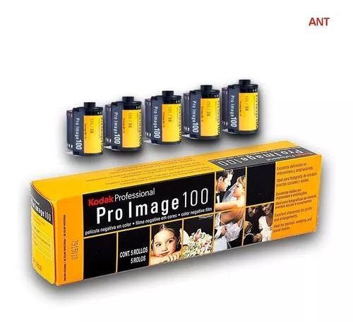 Filme kodak 35mm pro image 100 36 poses 05 rolos