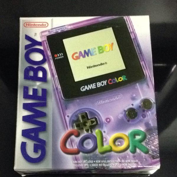 Game boy color - roxo transparente
