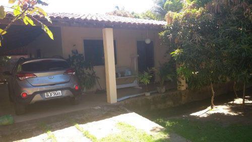 IPIOCA-COND SAUAÇUHY-CASA TERREA 3 QUARTOS LOTE 600M²