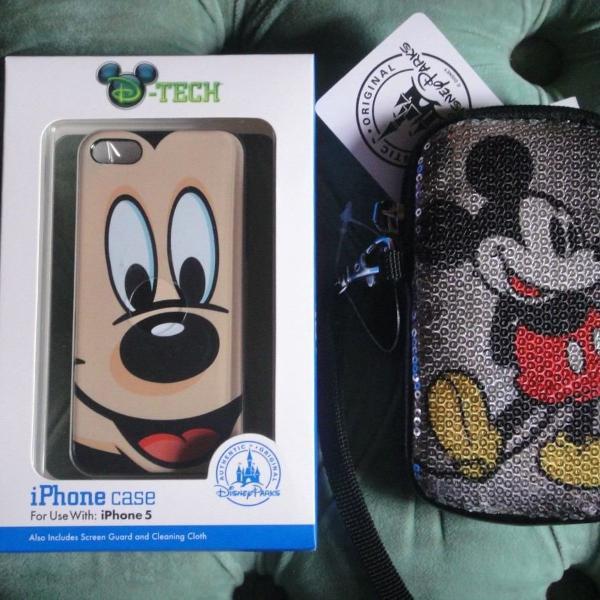 Iphone 5 e 5s capa e case do mickey exclusividade disney