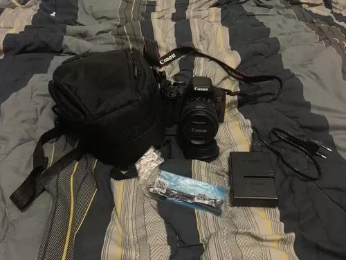 Kit câmera canon t6i - lente 18-55mm
