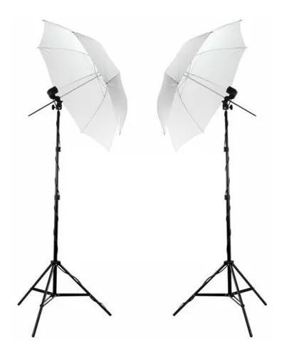 Kit de iluminação luz continua p/ estudio fotografico