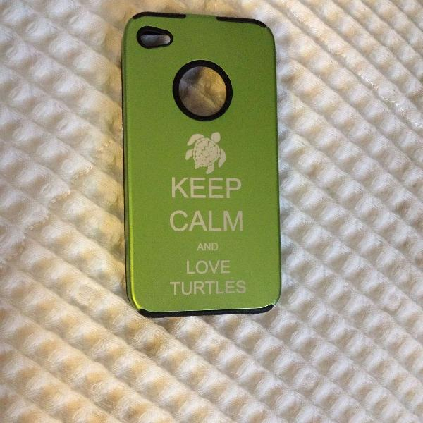 Love turtles - capinha celular