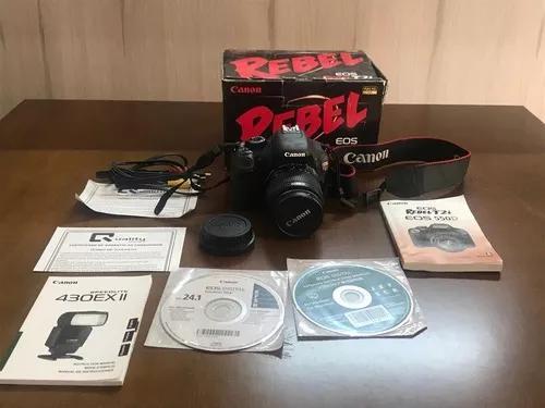 Maquina fotográfica canon eos rebel t2i