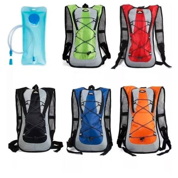 Mochila hidratação impermeável com bolsa água bike 2