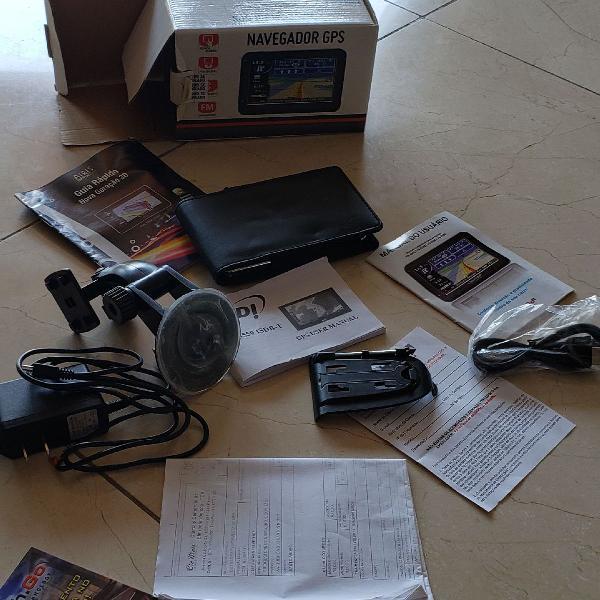 Navegador GPS com TV Digital portátil usb