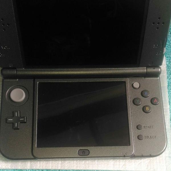Nintendo new 3ds xl preto