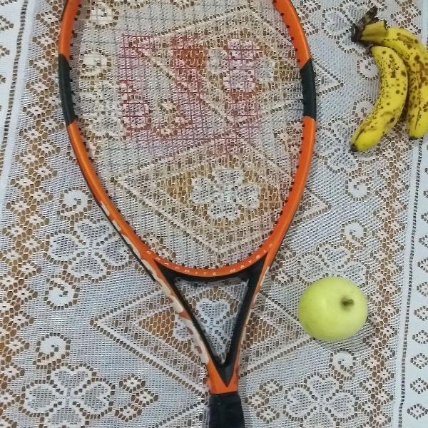 Raquete de tênis wilson graphite matrix 4 3/8