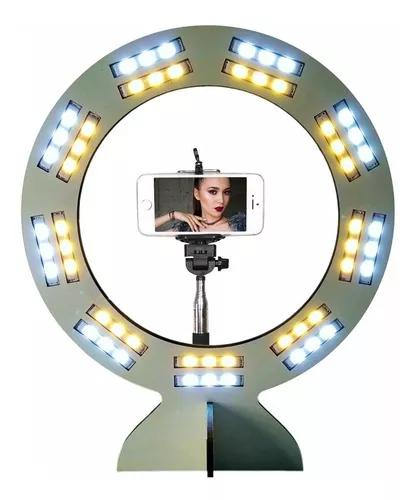Ring light maxx led blogueira youtuber selfie foto maquiag