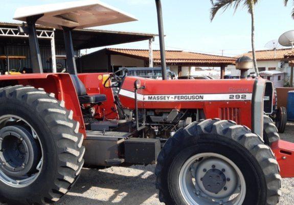 Trator massey ferguson modelo 292 ano 1993 14.99747.1027