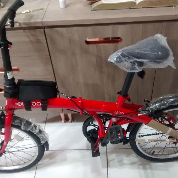 Bicicleta durban eco dobrável.