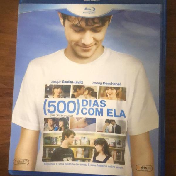 Blu-ray disc full-hd 1080p 500 dias com ela (500 days of