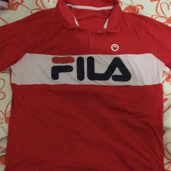 Camisa polo esportiva de ótimo tecido