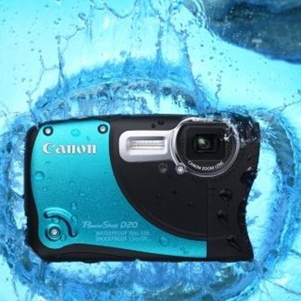 Canon powershot d20 full hd 12mp (waterproof!!)