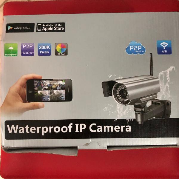 Câmera de segurança wi fi a prova dágua