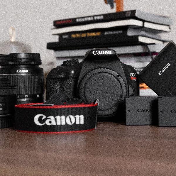 Câmera dslr canon t5 (1200d)