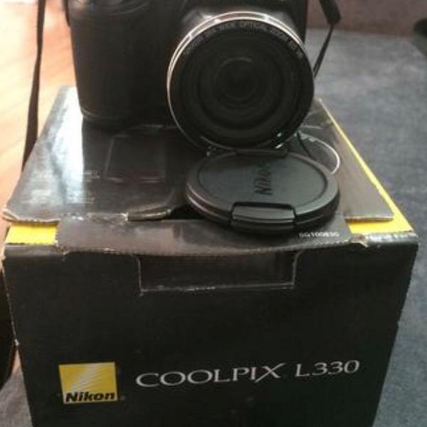 Câmera nikon l330 usada em perfeito estado