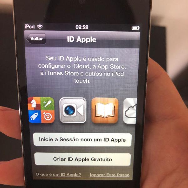 Ipod touch 32gb perfeito estado