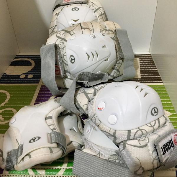 Kit proteção para patins