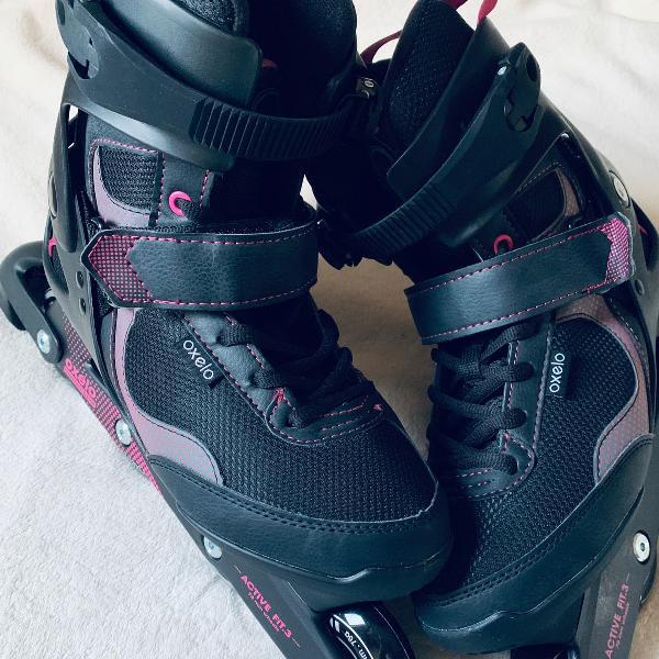 Patins feminino roller
