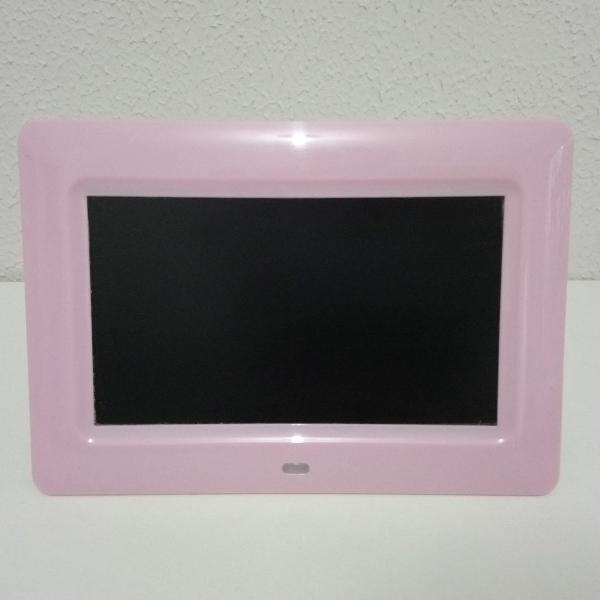 Porta retrato digital rosa