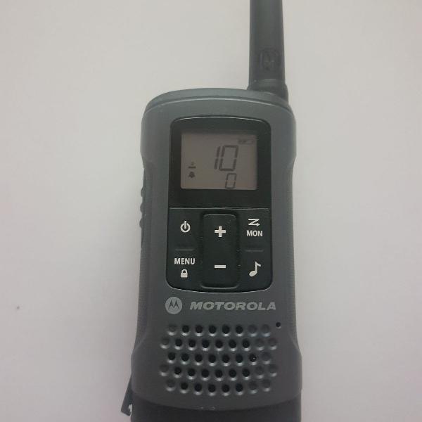 Rádio comunicador talkabout 32km t200 cinza motorola