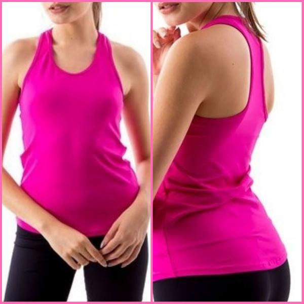 Regata fitness rosa íon