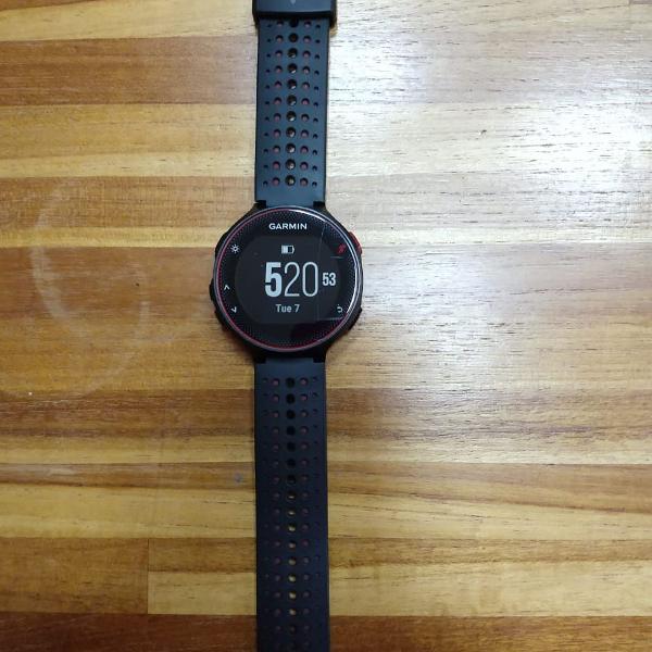Relógio gps garmin forerunner 235 - usado - funcionando
