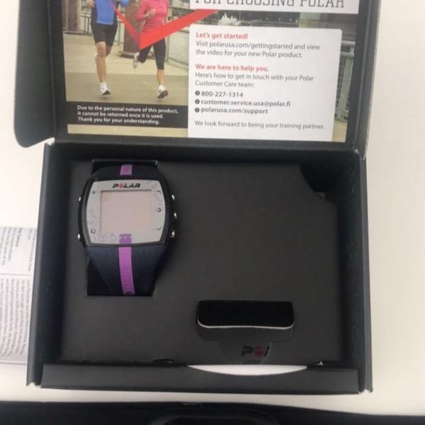 Relógio sensor polar ft7