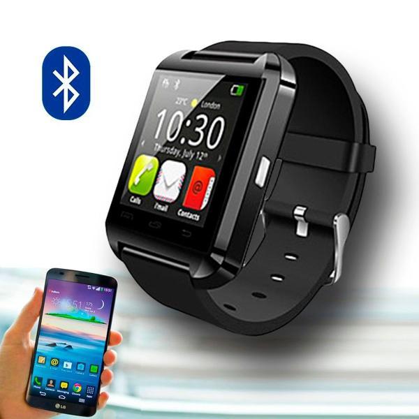 Relógio smartwatch bluetooth android e ios