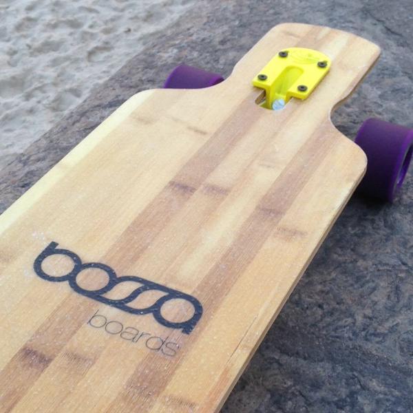 Skate longboard bossa boards pouquíssimo usado