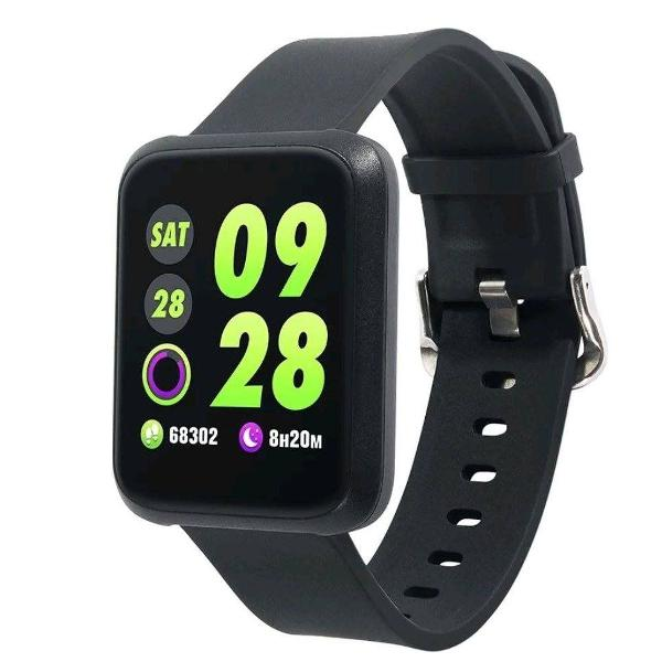 Smartwatch colmi pressão, cardiaca, prova d'água