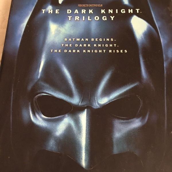 Trilogia batman em bluray