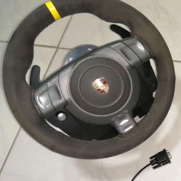 Volante gamer fanatec porsche gt3 rs+pedal g27 pc/ps4