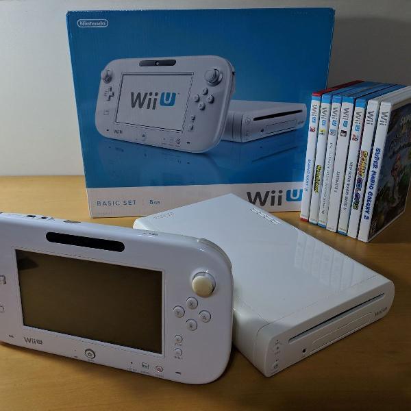 Wii u + jogos!
