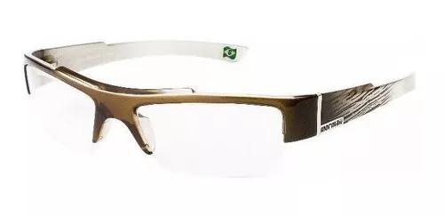 Armação oculos grau mormaii atol 126772952 dourado