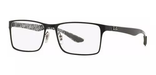 Armação Oculos Grau Ray Ban Rb8415 2848 Preto Fibra
