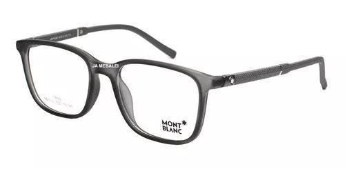 Armação óculos de grau masculino mont blanc mb0612