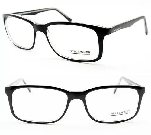 Armação óculos de grau para rosto grande tamanho 60 -