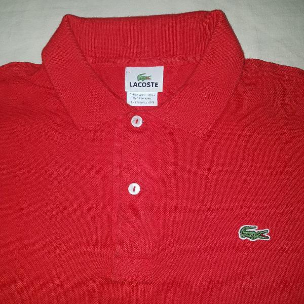 Camisa polo lacoste g original