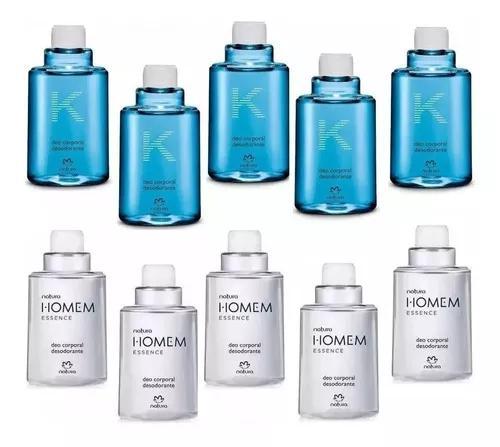Desconto + brinde- natura 10 refis deocorporal desodorantes
