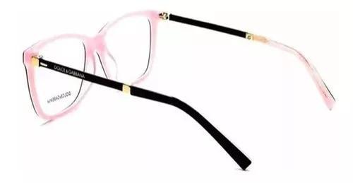 Dolce gabbana armação grau oculos f