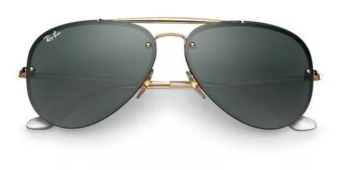 Oculos de sol ray ban aviador blaze original rb3584