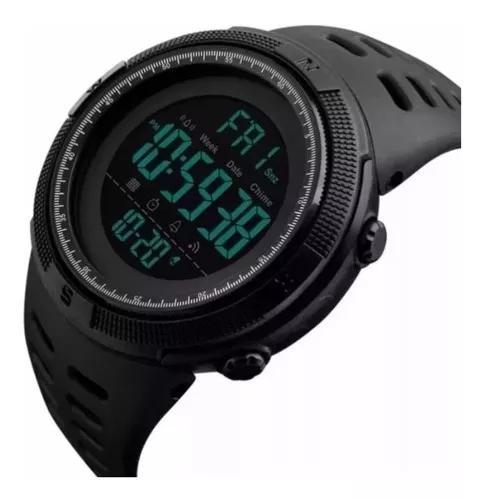 Relógio masculino digital a prova d'água skmei 1251