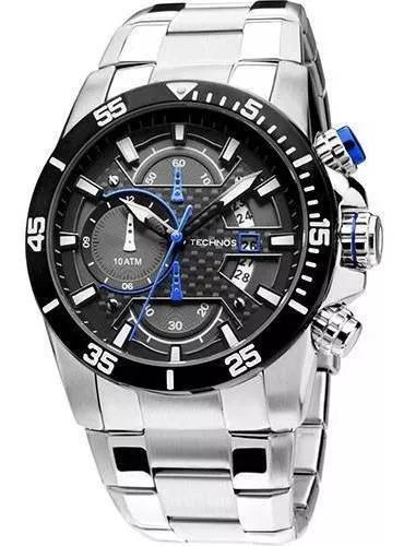 Relógio masculino technos analógico os10er 1a
