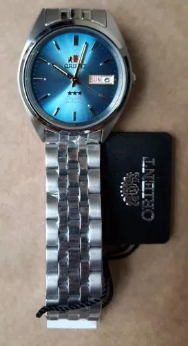 Relógio orient automatico clássico prova d'agua